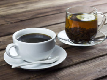 Caffeine in Coffee, Tea and More